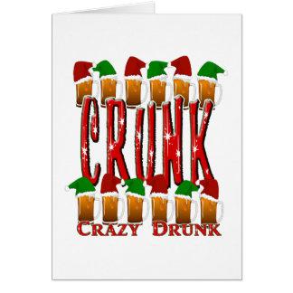 CRUNK - Crazy Drunk Card