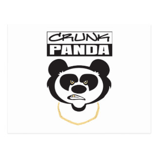 Crunk Panda Postcard