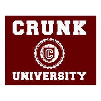 crunk university postcard