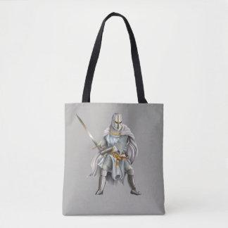 Crusader Knight All-Over-Print Tote Bag
