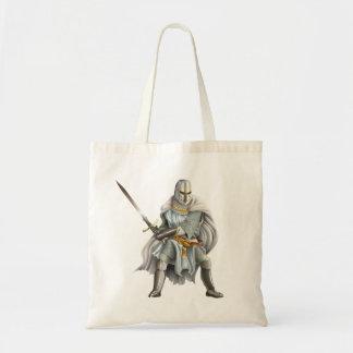 Crusader Knight Budget Tote Bag