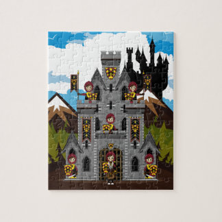 Crusader Knights and Castle Puzzle