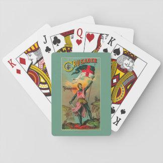 Crusader Tobacco LabelPetersburg, VA Playing Cards
