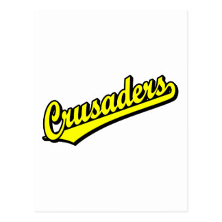 Crusaders in Yellow Post Cards