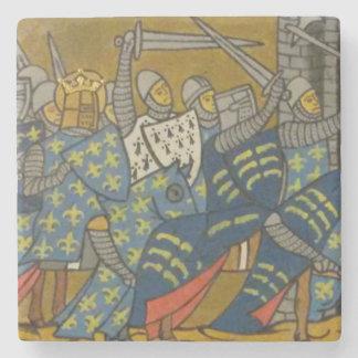 Crusaders Stone Coaster