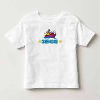 Cruse Ship Funny CRUISEOLOGIST Vacation Travel Toddler T-Shirt