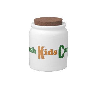 Crush Kids Cancer Candy Jar