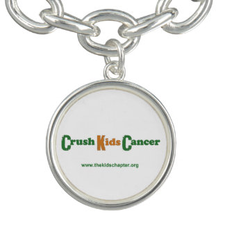 Crush Kids Cancer Charm Bracelet