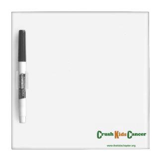 Crush Kids Cancer Dry Erase Board