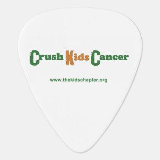 Crush Kids Cancer Guitar Pick