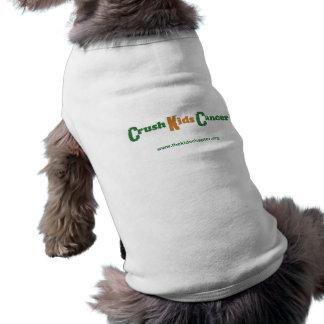 Crush Kids Cancer Pet Clothing