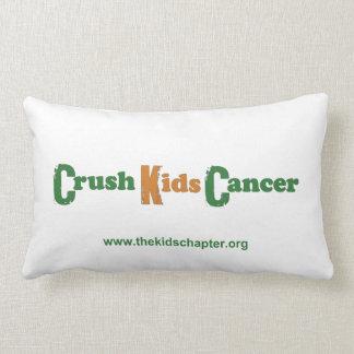 Crush Kids Cancer Pillow