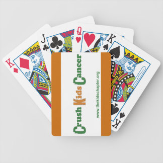 Crush Kids Cancer Playing Cards