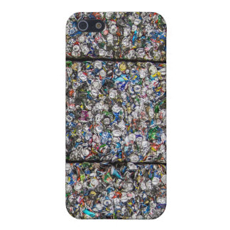 Crushed Cans Savvy iPhone 5 Matte Finish Case iPhone 5 Cover