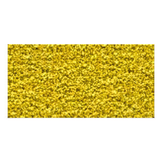 crushed gold photo greeting card