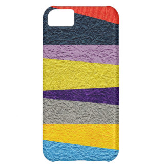 Crushed Strips iPhone 5C Covers