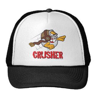 Crusher Cartoon Golf Ball For A Longest Drive Winn Trucker Hat