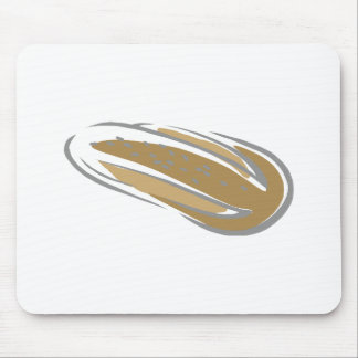 Crusty Bread Loaf Mouse Pad