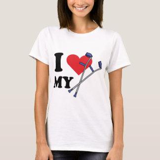 Crutch Love Ladies T T-Shirt