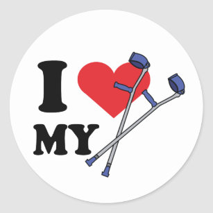 Crutch Love Stickers