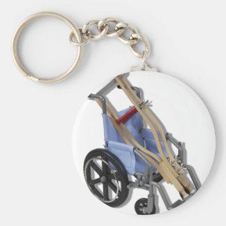 CrutchesWheelchair081210 Basic Round Button Key Ring