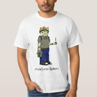Cruvify Free Thinkers Color T-Shirt