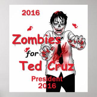 Cruz Zombies 2016 Posters