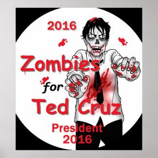 Cruz Zombies 2016 Print