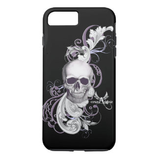 cruzAngelz Purple Skull iPhone iPhone 7 Plus Case