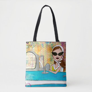 Cruz'in Little Girly Tote