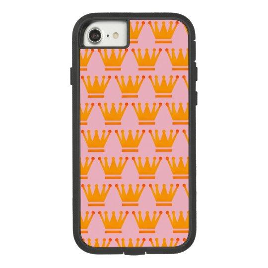 Crwon Case Queen Gold Pink iPhone / iPad