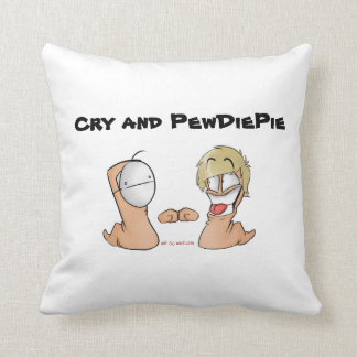 Cry And PewdiePie Cushion