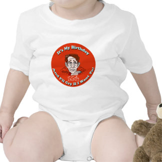 Cry If I Want 55th Birthday Gifts Romper