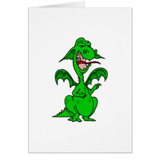 Crybaby Dragon Greeting Cards