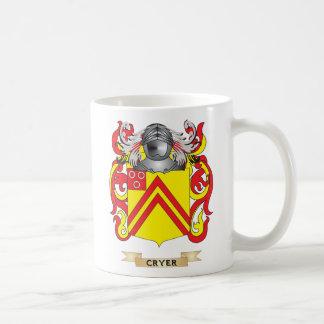 Cryer  Coat of Arms Basic White Mug