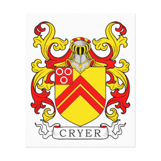 Cryer Coat of Arms Canvas Print