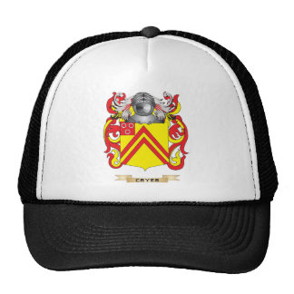 Cryer  Coat of Arms Trucker Hat