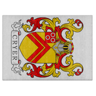 Cryer Coat of Arms Cutting Boards