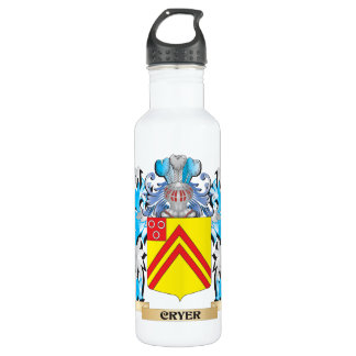 Cryer- Coat of Arms - Family Crest 710 Ml Water Bottle