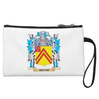 Cryer- Coat of Arms - Family Crest Wristlet Purse