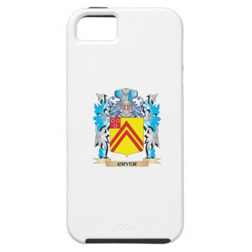 Cryer- Coat of Arms - Family Crest iPhone 5/5S Covers