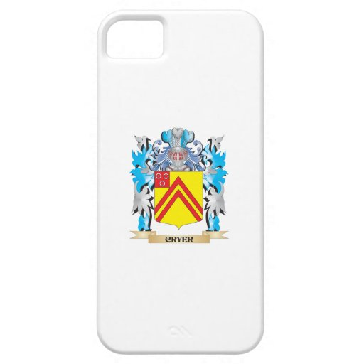 Cryer- Coat of Arms - Family Crest iPhone 5/5S Cover