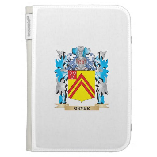 Cryer- Coat of Arms - Family Crest Kindle Covers