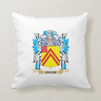 Cryer- Coat of Arms - Family Crest Pillows