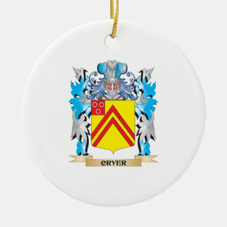 Cryer- Coat of Arms - Family Crest Christmas Tree Ornament