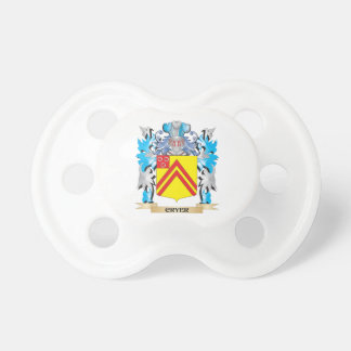Cryer- Coat of Arms - Family Crest Pacifiers