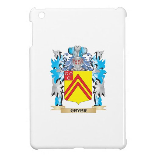 Cryer- Coat of Arms - Family Crest iPad Mini Covers