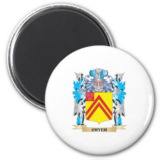 Cryer- Coat of Arms - Family Crest Fridge Magnet