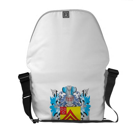 Cryer- Coat of Arms - Family Crest Courier Bag