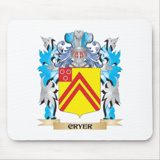 Cryer- Coat of Arms - Family Crest Mouse Pads